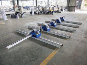 Kalın metal 6 - 150mm kesmek için 180W Taşınabilir CNC Plazma Kesme Makinesi