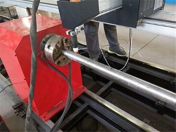 2017 Yeni Taşınabilir tipi Plazma Metal Boru kesici makinesi, CNC metal tüp kesme makinası