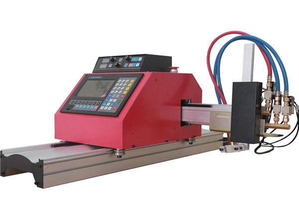 2017 sıcak satış taşınabilir portal cnc alev plazma kesme makinası ile THC ile çelik