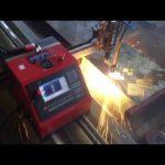 2017 en kaliteli CE belgelendirme taşınabilir metal kesici ucuz cnc plazma kesme makinası