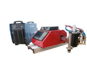 Otomatik taşınabilir cnc plazma kesme makinası çelik alüminyum paslanmaz