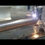 CNC 3 eksen plazma alev boru döner boru çelik kesme makinası
