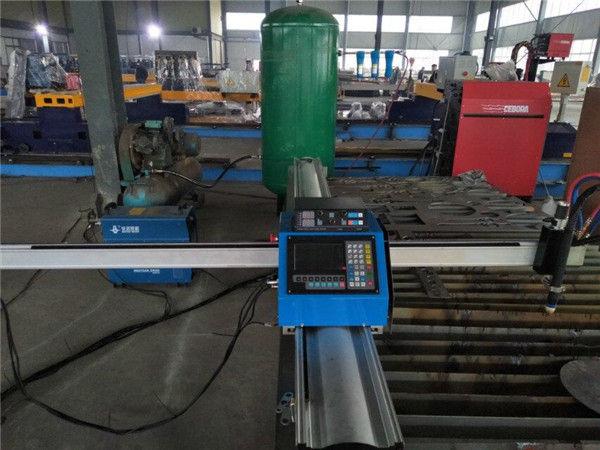 Ucuz fiyat taşınabilir cnc gaz kesme makinası için metal levha