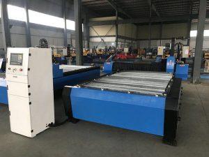 Çin 1325 1530 ucuz meşale yükseklik kontrol plazma huayuan metal çelik kesme cnc plazma kesme makinası