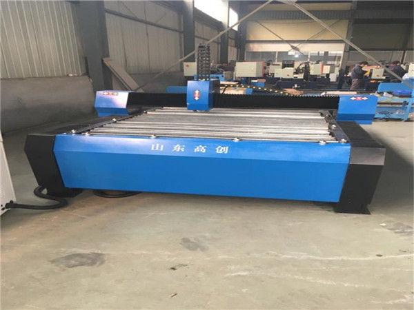 Çin 1325 Plazma Kesici Metal CNC Plazma Kesim Makinesi