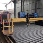 Çin büyük szie cnc portal alev plazma kesme makinası