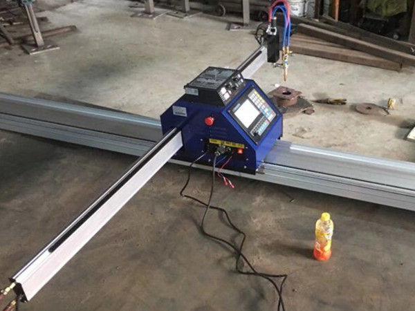 Çin Ucuz CE ile 15002500mm Metal Taşınabilir CNC plazma kesme makinası