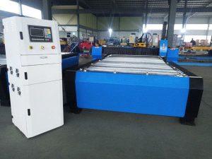 Çin Kalın Metal Sac 65a 85a 200a İsteğe Bağlı Hiper 125a ile CNC Plazma Kesme Makinesi İsteğe bağlı