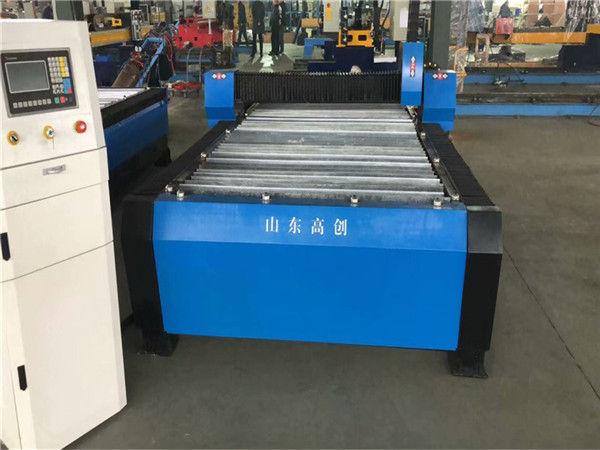 Çin Huayuan 100A Plazma Kesme CNC Makinesi 10mm Plaka Metal