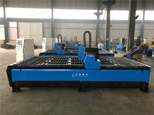 Çin CNC Metal Alev ve Plazma Kesim Makinesi