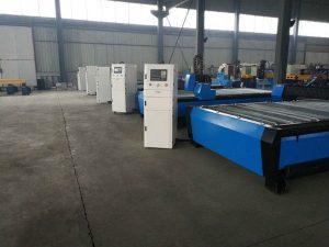 Cnc taşınabilir plazma alev kesme makinası masa / tezgah masaüstü / donanım cnc paslanmaz çelik kesme makinası