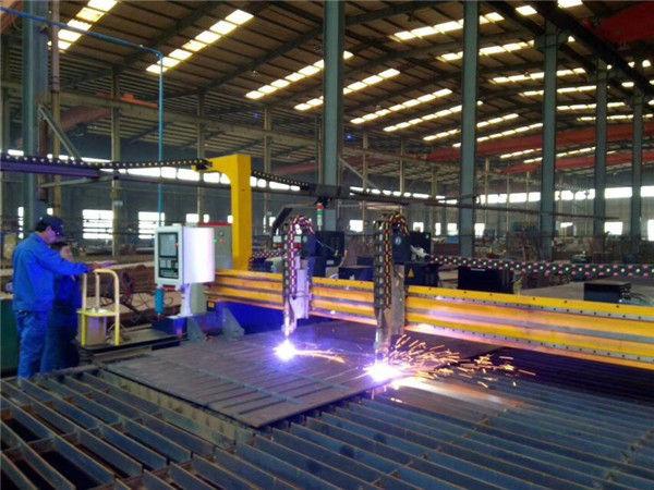 Portal plaka CNC plazma eğim 45 derece kesme makinası