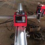 Yüksek kalite taşınabilir cnc plazma kesme makinası / cnc plazma kesici için paslanmaz çelik ve metal levha