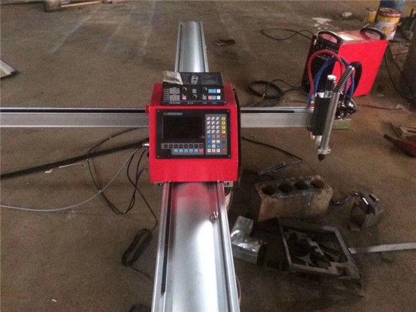 Yüksek kalite taşınabilir cnc plazma kesme makinası cnc plazma kesici için paslanmaz çelik ve metal levha