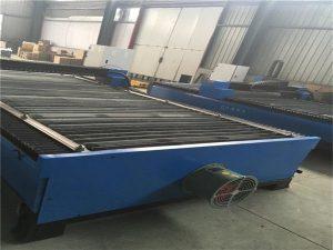 Sıcak satış sac kesme paslanmaz çelik karbon çelik 100 Bir cnc plazma kesici 120 plazma kesme makinası