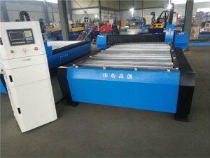 Jinan CE Meslek 1325 Küçük CNC Plazma Kesim Makinesi