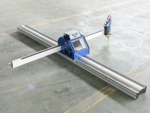 Düşük maliyetli küçük çelik levha cnc plazma alev kesme makinası