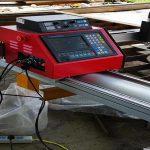 Cnc taşınabilir sayısal kesme makinası / metal plazma kesme makinası