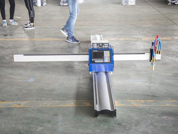 Yeni teknoloji taşınabilir tip cnc plazma kesme makinası fiyatı küçük işletme imalat makineleri