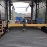 Hassas cnc plazma kesme makinası doğru 13000mm servo motor