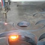 ce onaylı alev kesme meşale çin'de taşınabilir cnc plazma kesici makinası fabrika