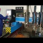 ağır portal cnc plazma kesme makinası metal imalat otomatik