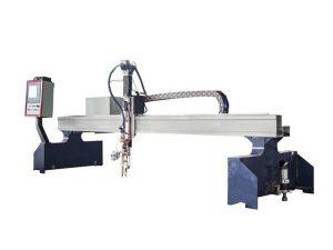Yüksek verim portal cnc plazma kesme makinası / cnc alev kesme makinası