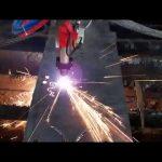 Düşük maliyetli cnc plazma kesme makinası demir çubuk kesme makinası daire kesme makinası