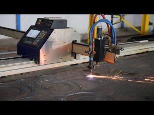 Düşük maliyetli grantry tipi taşınabilir mini cnc plazma kesme makinası