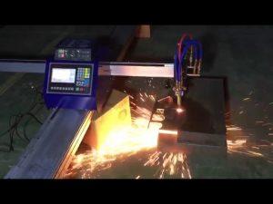 Düşük maliyetli mini taşınabilir cnc boru alev plazma kesme makinası kesme metal paslanmaz çelik