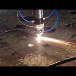 Çin'de yapılan ticaret güvencesi ucuz fiyat taşınabilir kesici cnc plazma kesme makinası için paslanmaz çelik metal demir