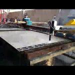 Metal çelik kesme makinası mini taşınabilir alev, plazma kesme makinası fiyatı