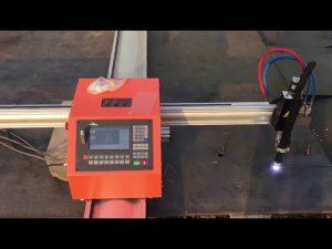 Taşınabilir alev cnc gaz plazma kesme makinası